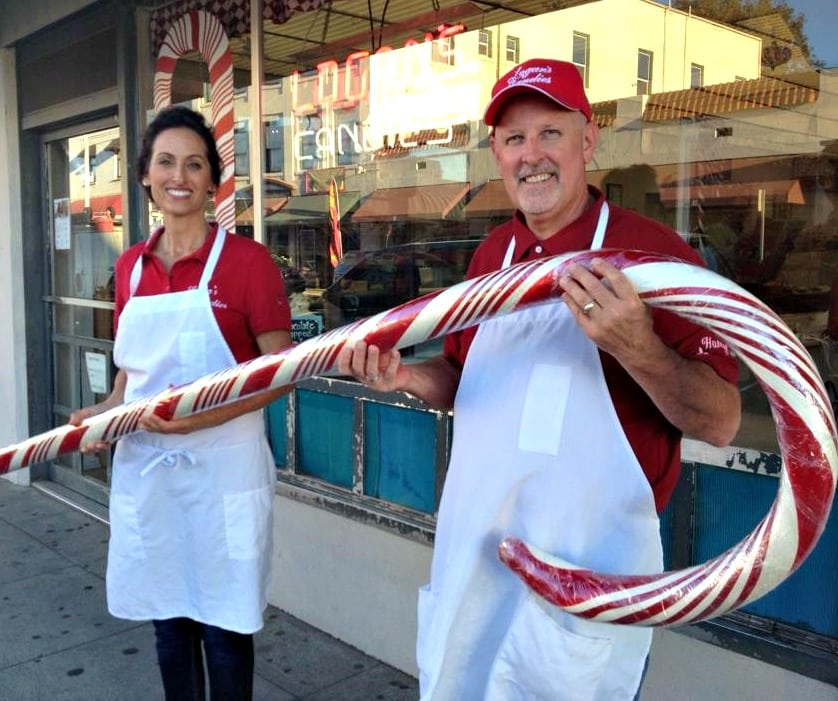 Are you looking for a unique Christmas event in Southern California? Learn how to register for a Logan's Candies Candy Cane Demonstration in Ontario, California. Children are welcome and they host tours all year round.