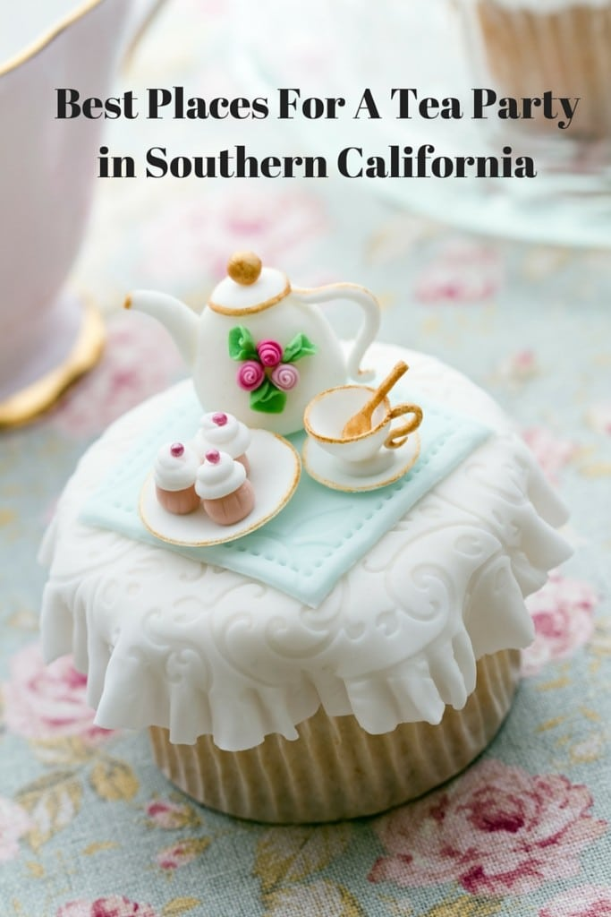 best places for a tea party with multiple locations