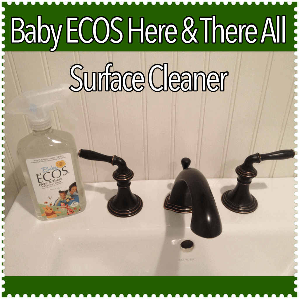 Giveaway Alert Amp Review Baby Ecos Cleaning Products