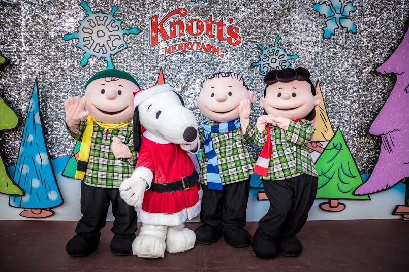 Get discount tickets to Knott's Berry Farm for their annual Knott's Merry Farm celebration taking place November 19 - January 8.