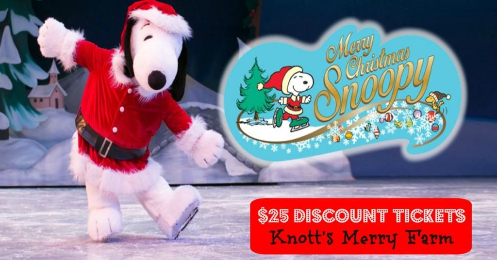 $25 Discount Tickets To Knott\'s Merry Farm in Buena Park - SoCal ...