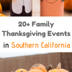 A pilgrim and indian craft for thanksgiving in Southern California