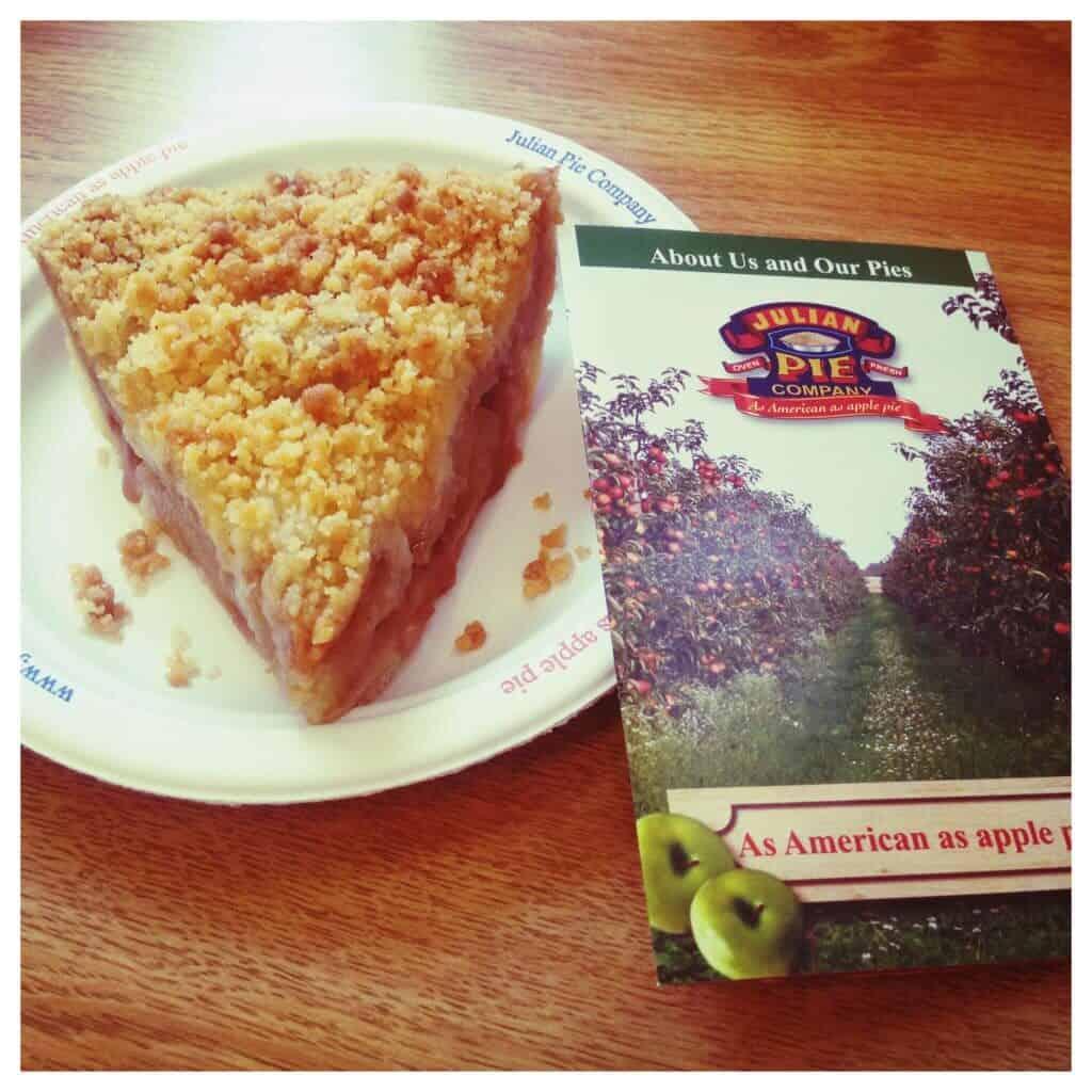 Pie Eating in Julian California