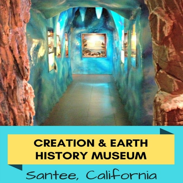 Have you studied evolution and want to learn more about creationism? Then a visit to The Creation & Earth History Museum in Santee, California is the perfect place to further research the Evolution vs. Creation debate.
