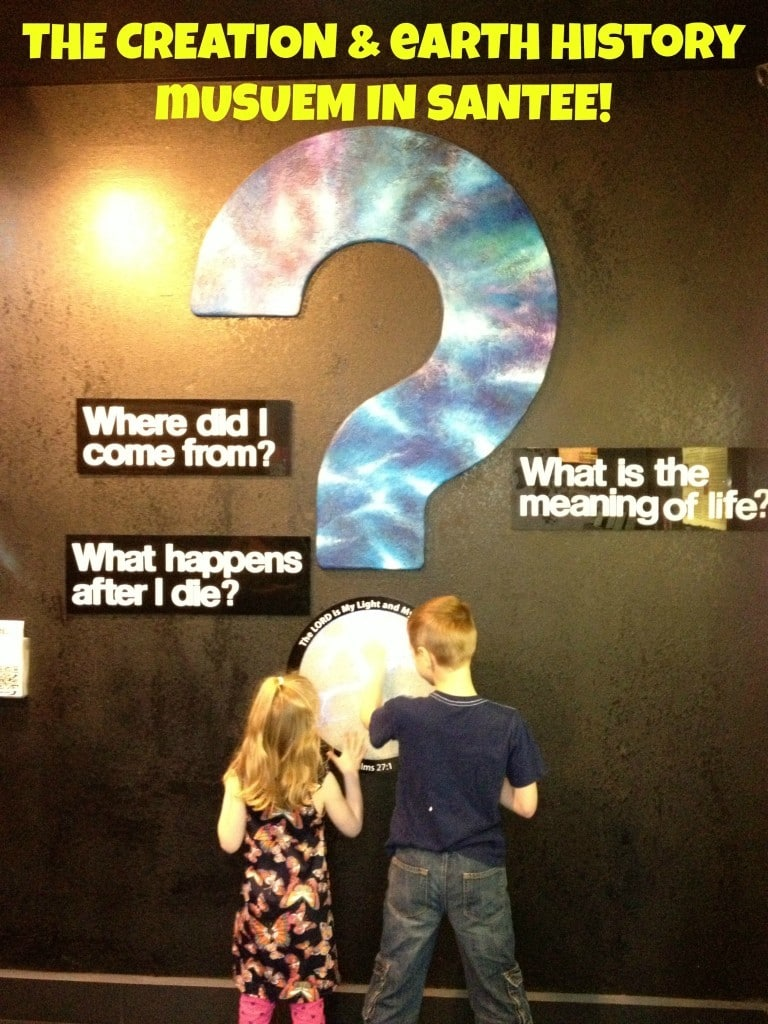 The Creation Earth History Museum In Santee Socal