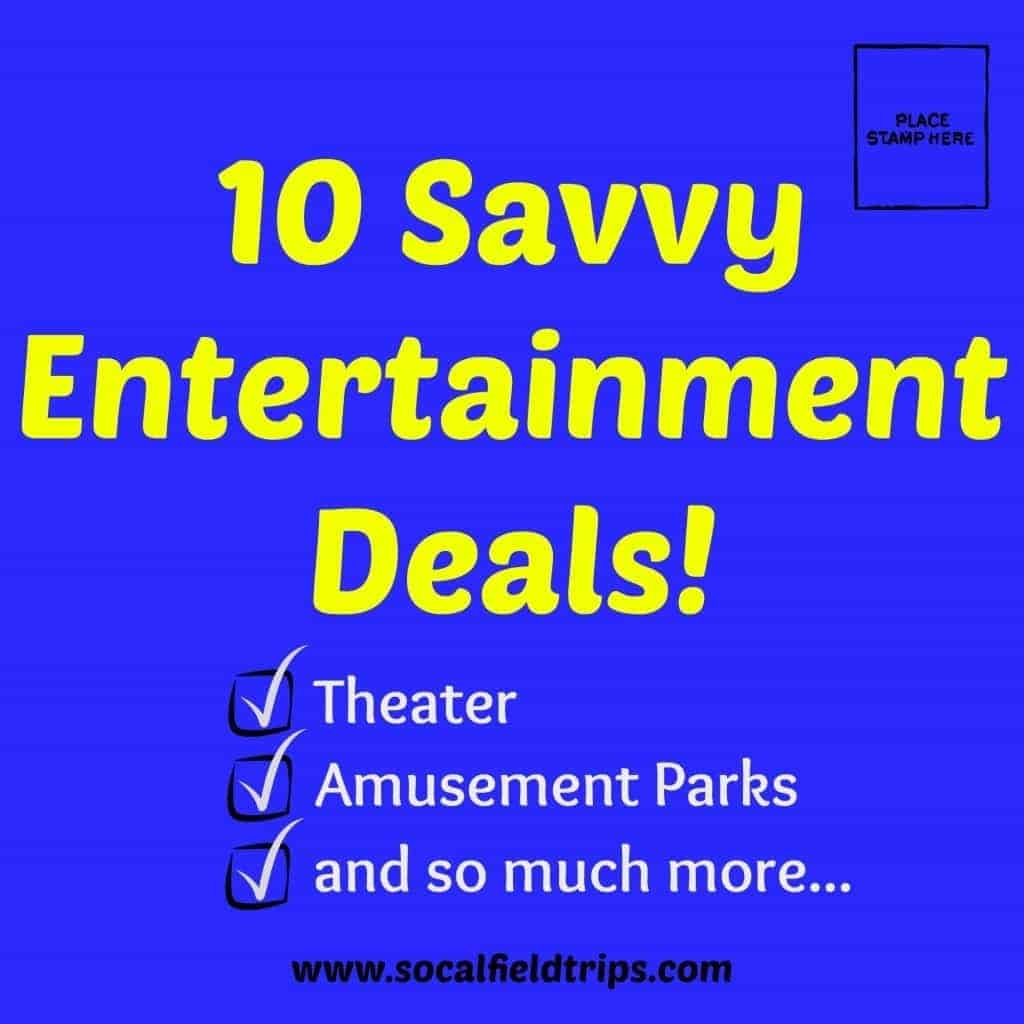 Southern California Discount Tickets