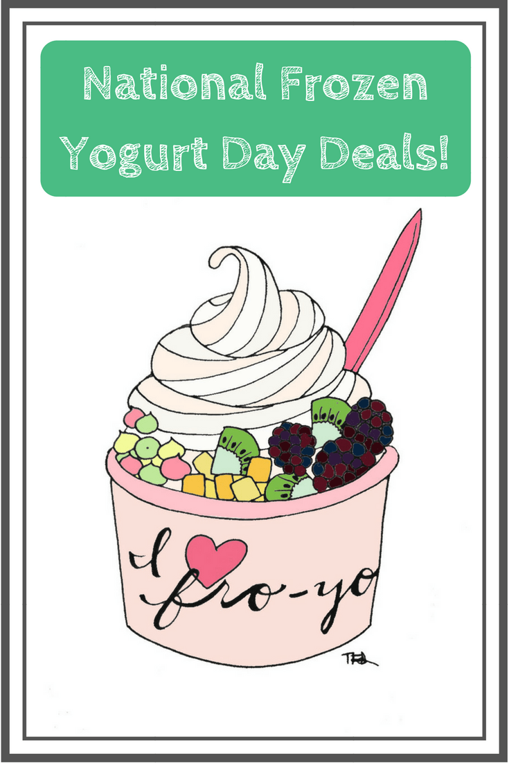 Do you love frozen yogurt? Then check out this list of the best deals for National Frozen Yogurt Day on February 6.