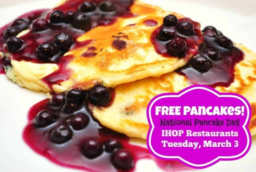 Free Packages at IHOP