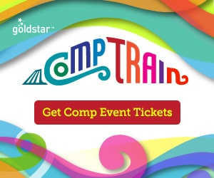 Free event tickets through Goldstar!  2 days only!