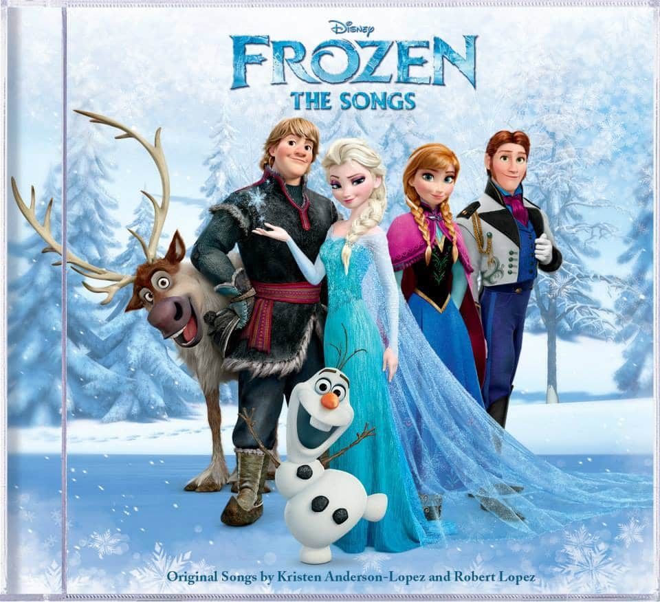 Frozen The Songs CD Review