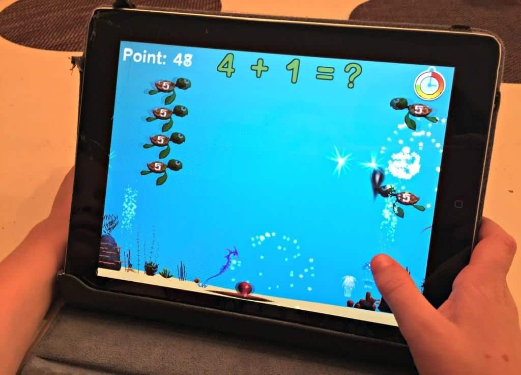 OctoPlus provides kids with fun, interactive math addition problems that are accessible based on a student's math skill and ability - whether for regular daily practice or to challenge a student beyond their current skill level.