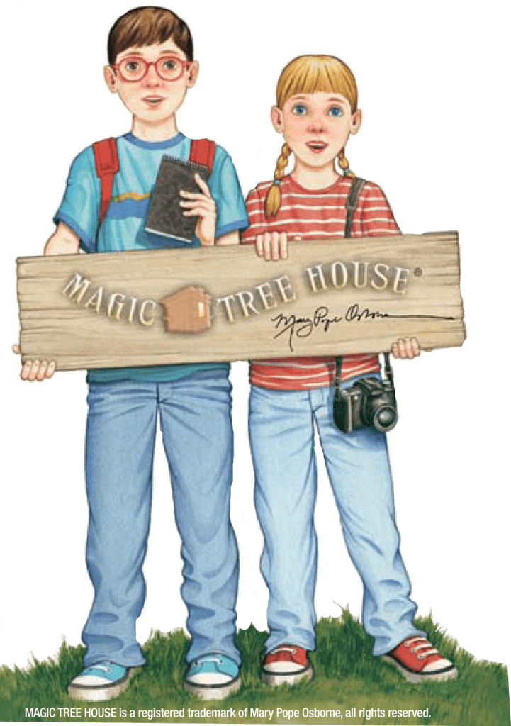 See The Magic Tree House® Traveling Exhibit at The Western Science Center in Hemet through May 24, 2015!
