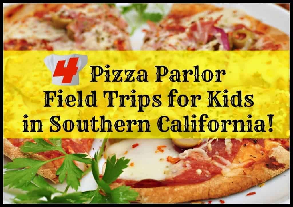 Pizza Parlor Field Trips for Kids in Southern California teach children about cooking and how to run a business. Most are free or low cost per child.