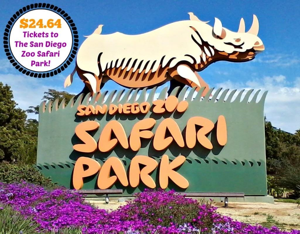 24 64 Tickets To The San Diego Zoo Safari Park For A