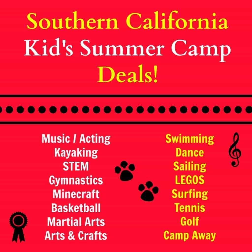 10 Summer Camp Deals for Kids in Southern California (Part I)