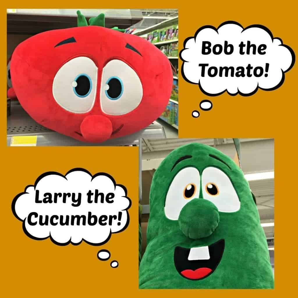 VeggieTales character-based toys teach children valuable lessons such as honesty, integrity and faithfulness!