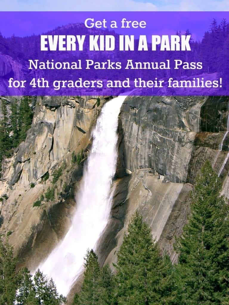 """FREE """"Every Kid in a Park"""" National Parks Annual Pass for 4th graders and their families!"""