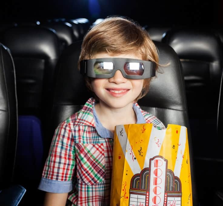 Are you looking for an inexpensive activity to do with your kids? Several movie theaters across Southern California offer discount admission starting at only $1.75 per person. Check it out! #movies #kidsmovies #theater