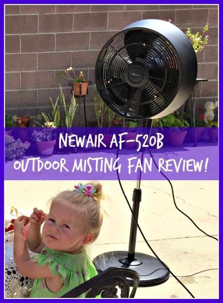 Mist Fans Lowe S : Cool down this summer with the new newair af b outdoor
