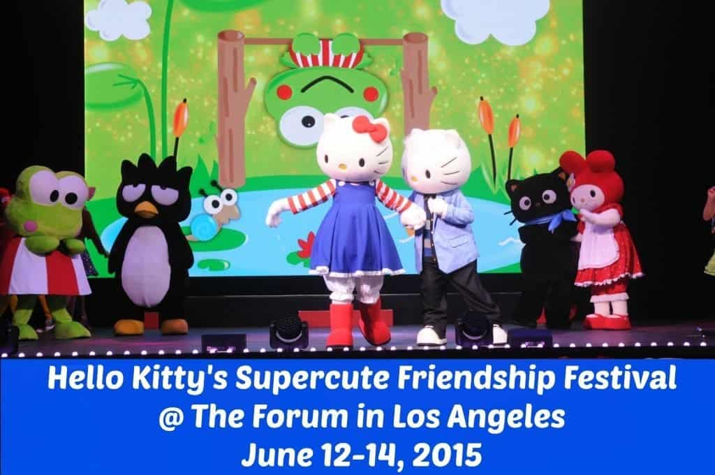 Get discount tickets to Hello Kitty's Supercute Friendship Festival at the Forum in Inglewood on June 12-14, 2015. Tickets start as low as $40 per person.  Children 2 and under are free.