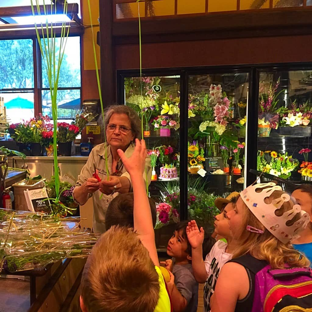 A Field Trip to Bristol Farms in Newport Beach, California.  We took an exclusive tour of store and learned about the inner workings of how a grocery store is operated.