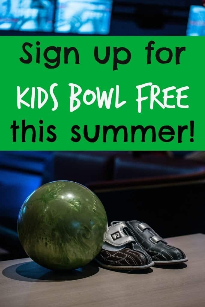 Sign your kids up for Kids Bowl Free! A program designed by bowling centers to provide a safe, secure, and fun way for kids to spend time this summer.