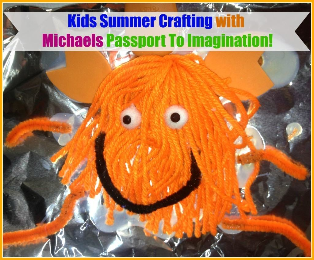 Michaels stores are making it so easy for parents and kids to get crafting this summer with their Passport to Imagination classes. Kids will have a chance to take a road this summer at classes being held on Mondays, Wednesdays, and Fridays from June 15 - July 31. Each week a different road trip will be explored while kids enjoy doing a large variety of craft projects.