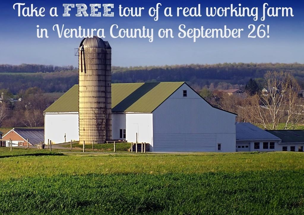 Tour A Real Working Farm In Ventura County On September 26!