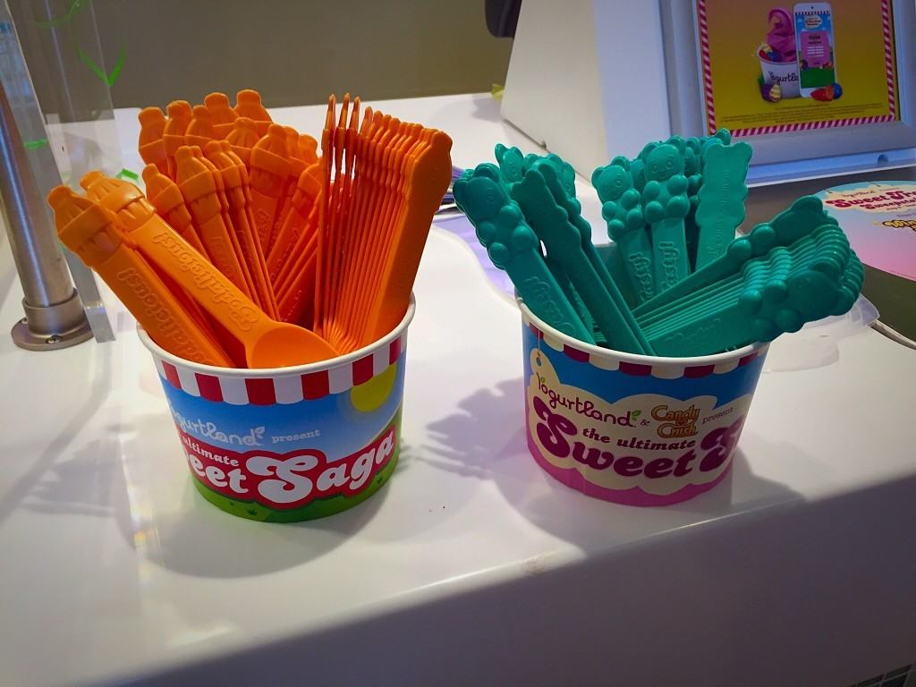 Enter to Win a $30 Yogurtland Gift Certificate in celebration of their new Candy Crush flavors!