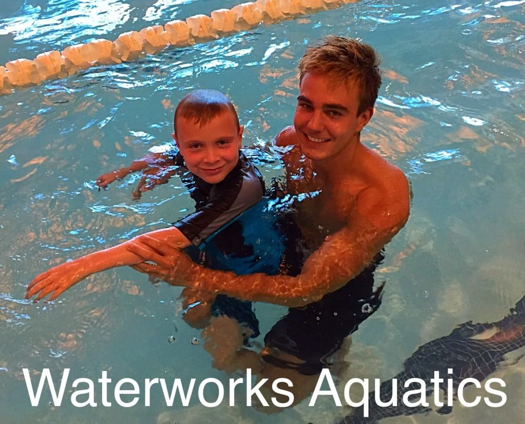 Waterworks Aquatics provide a 5 star swimming experience for kids!