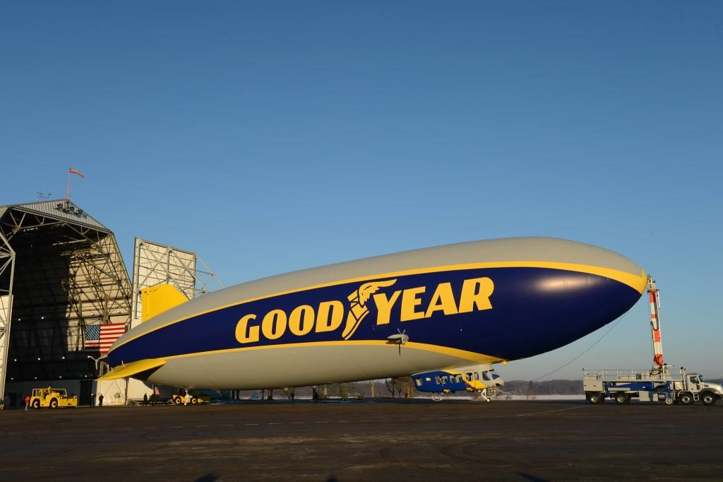 Get free tickets to take a ground tour of the Goodyear Blimp on March 5 from 10 am - 5 pm in Carson, California.