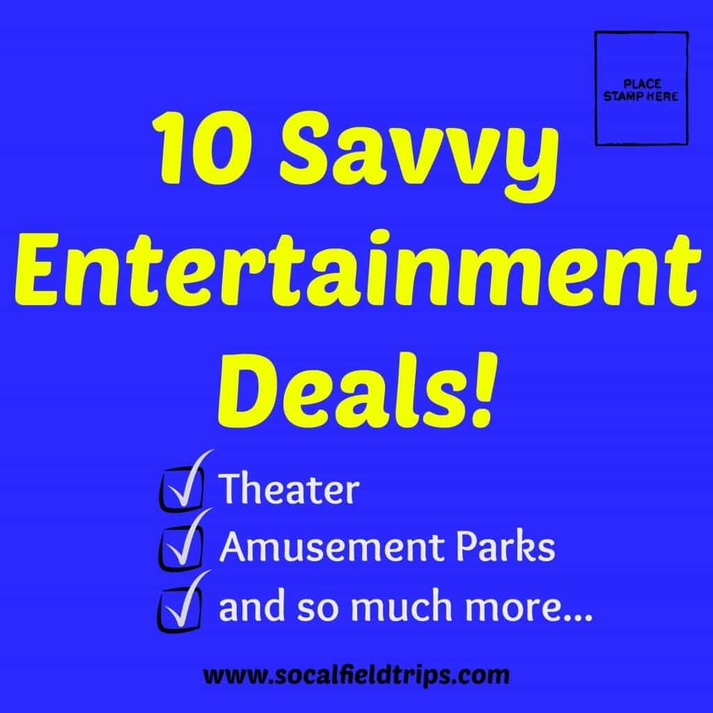 10 Savvy Entertainment Deals!