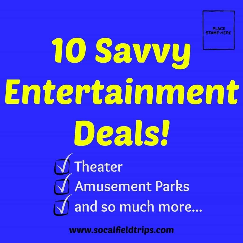 10 Savvy Entertainment Deals!