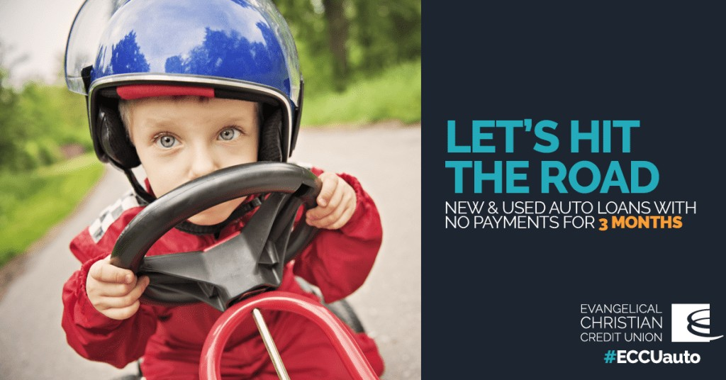 Experience Great Vehicle Financing In Line With Your Family Budget & Values with ECCU!