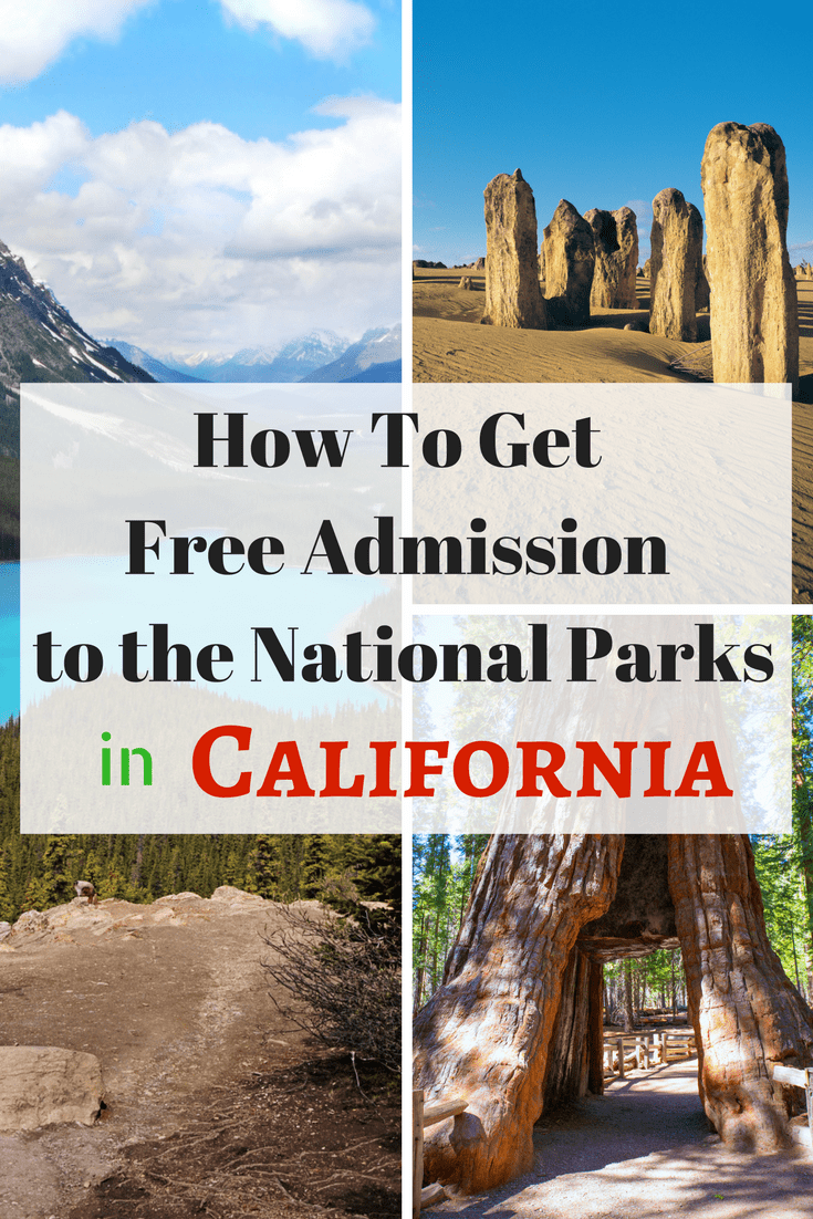 Do you like to travel or discover new places to explore? Mark your calendar each year for the free entrance days to all of California's 28+ National parks, monuments and sites. #hiking #travel