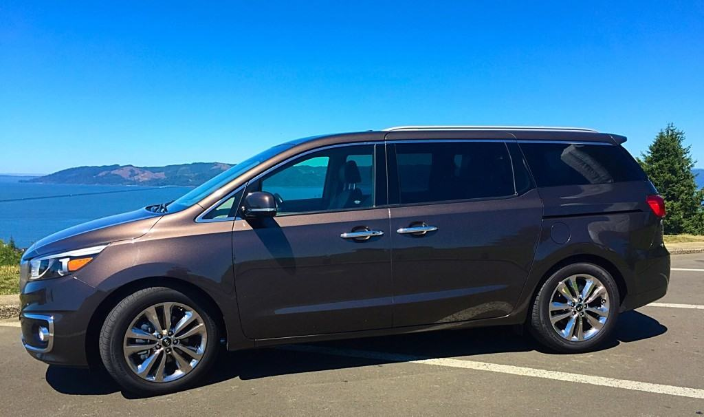 Vacationing through Oregon in the 2015 Kia Sedona SXL