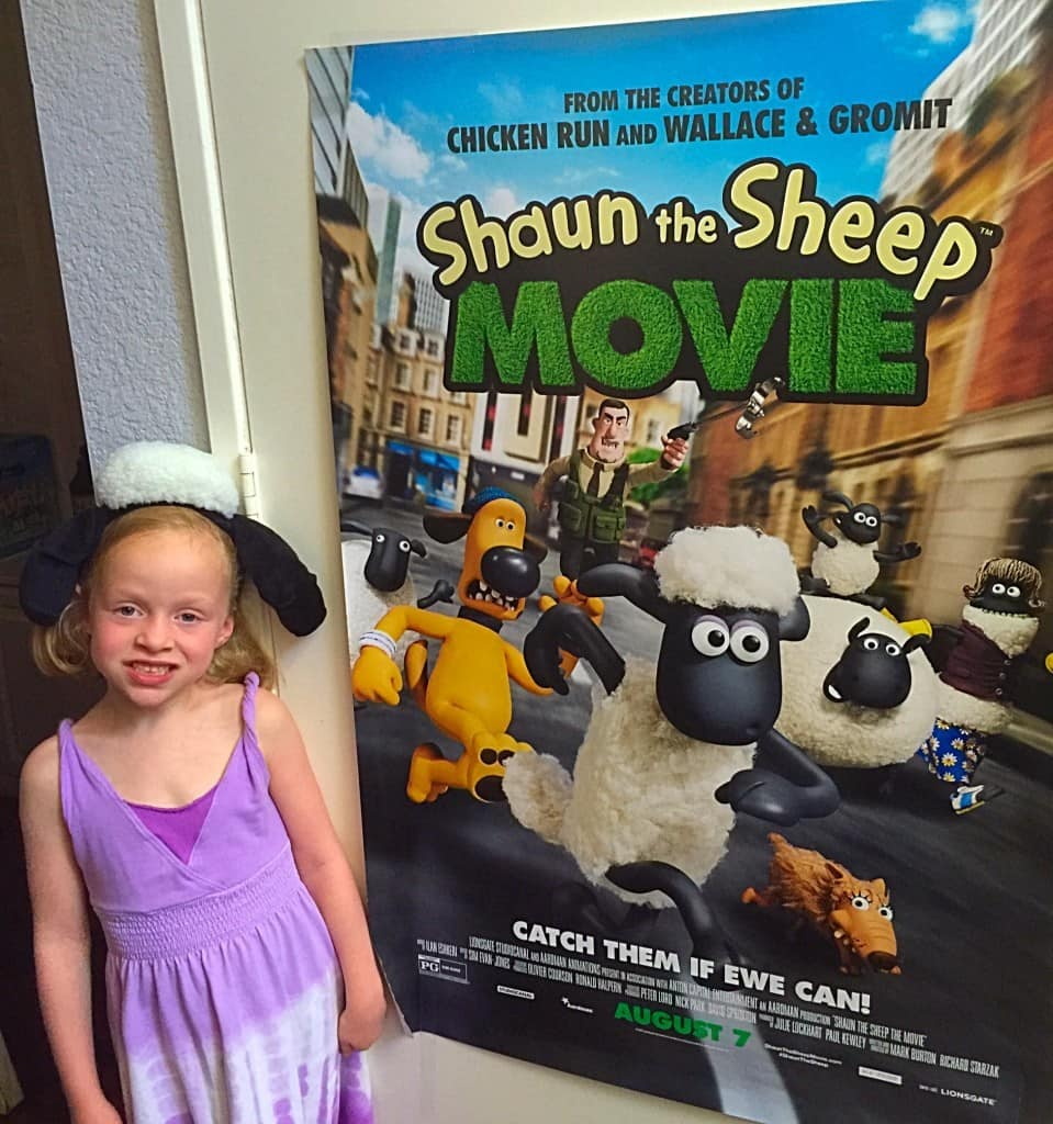 Celebrating Shaun the Sheep Movie Release on August 7!