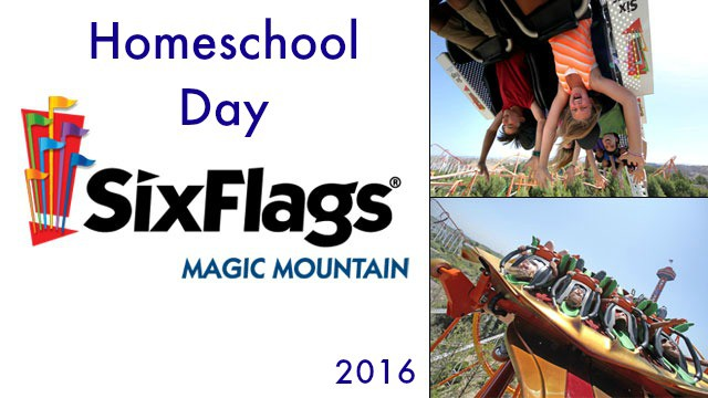Are you a homeschooling family in Southern California? Then you will want to attend Homeschool Day at Six Flags Magic Mountain in Valencia where homeschoolers get in for only $37 for the, plus the option to purchase a catered lunch.