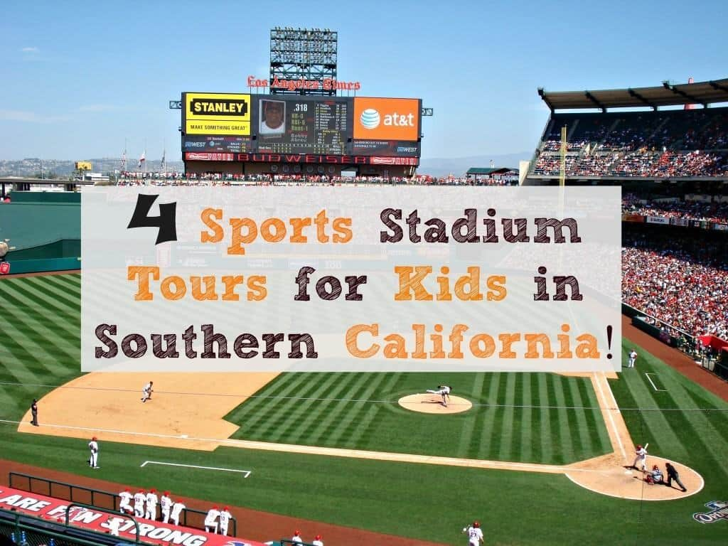 Are you a sports fan?  Then go on one of these 4 Stadium Tours for Kids in Southern California!