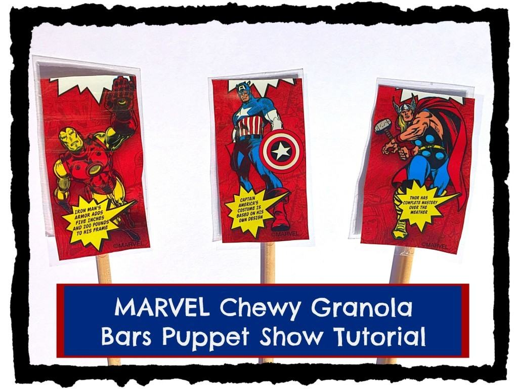 ARVEL Chewy Granola Bars Puppet Show Tutorial