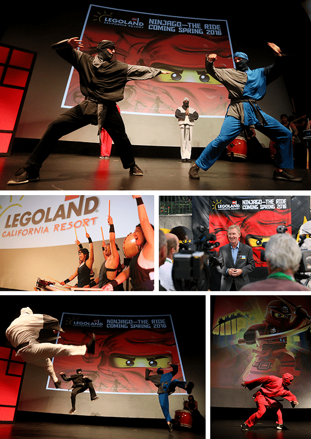 NINJAGO™- The Ride comes to LEGOLAND® California Resort in 2016!