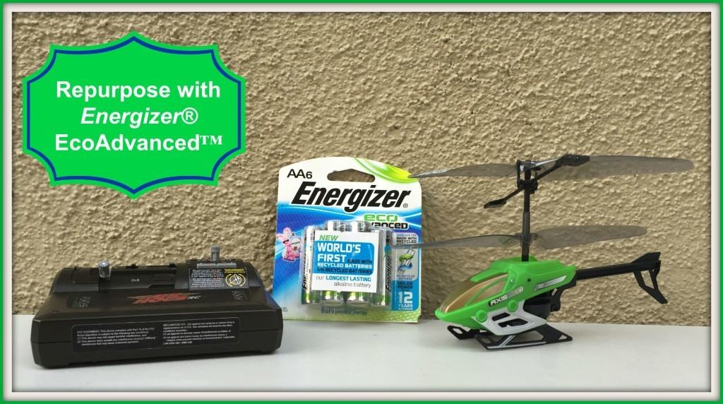 Renew, Reuse, Recycle with Energizer® EcoAdvanced™ Batteries