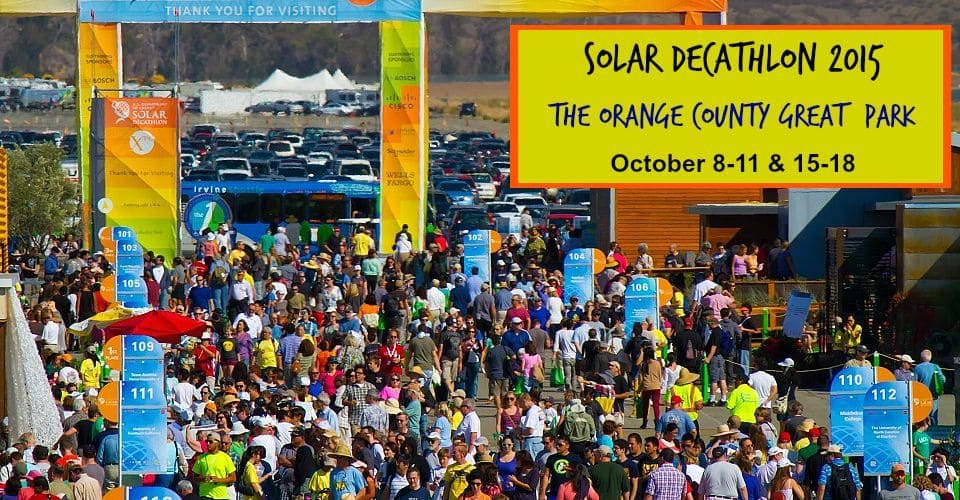 Solar Decathlon 2015 at The Orange County Great Park