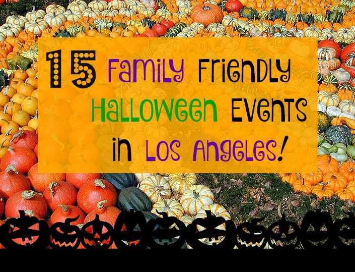 15 Family Friendly Halloween Events in Los Angeles