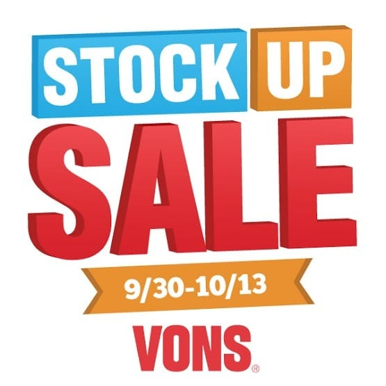 It was the perfect time to stock up, because several General Mills products are on sale right now from September 30 - October 13 at Vons.