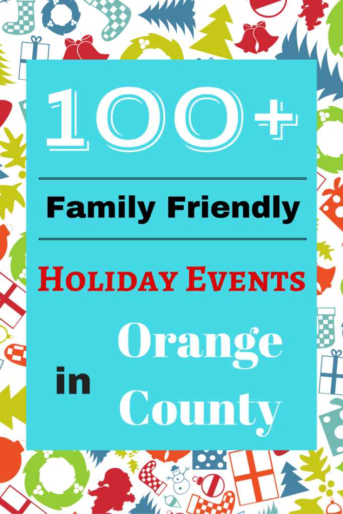 Celebrate the holiday season by attending any one of these 100+ Family Friendly Holiday Events in Orange County, California. From popular boat parades to the best Christmas light displays in Orange County to children's holiday parties, SoCal Field Trips has you covered! Happy Holidays!