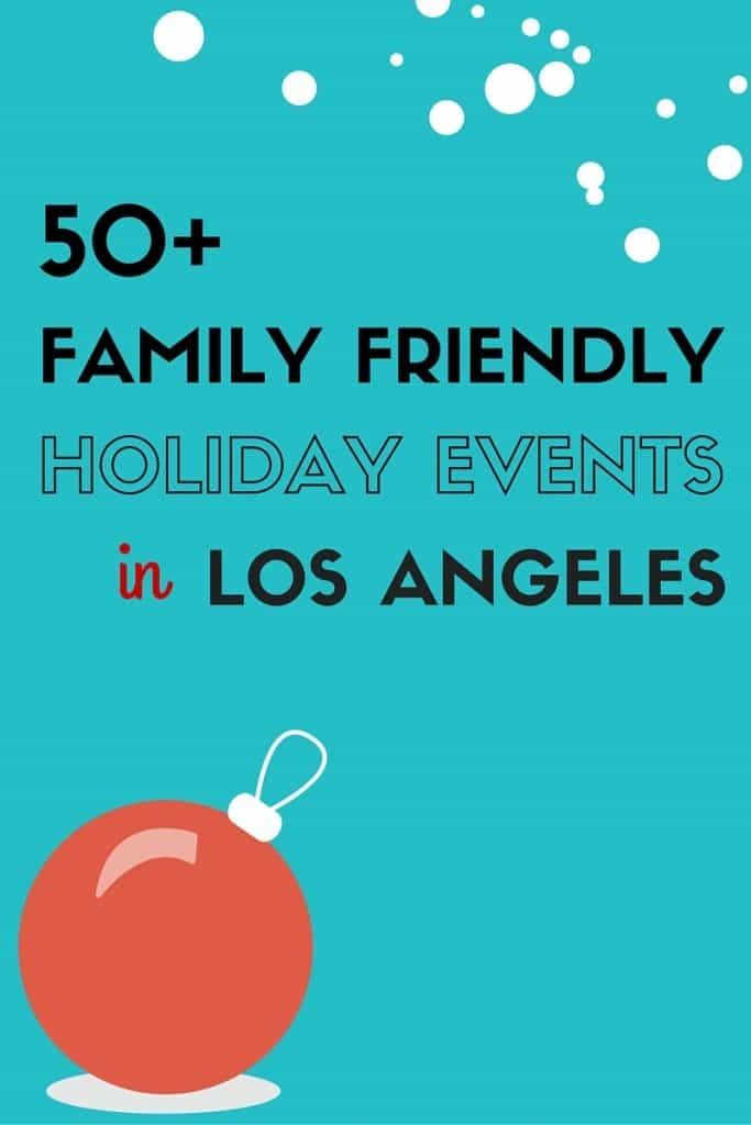 Enjoy 50+ Holiday Events throughout Los Angeles from ice skating to Christmas tree lightings to holiday boat parades.