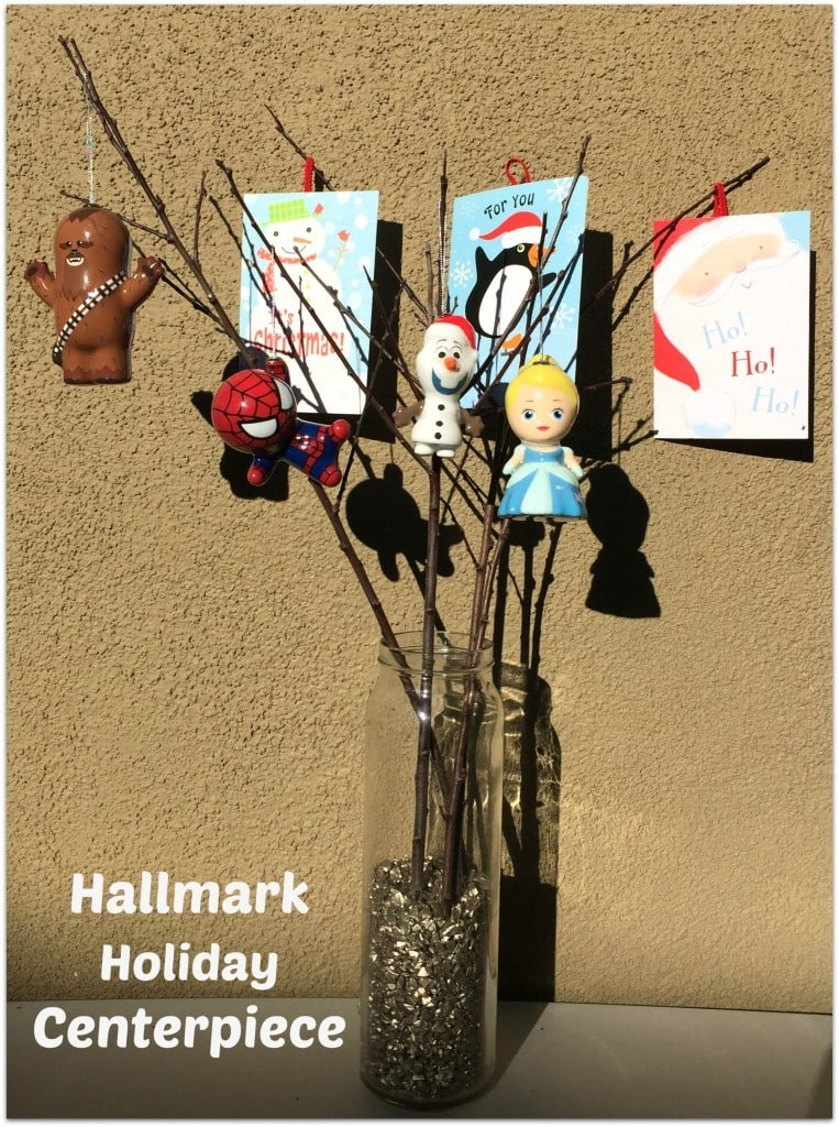 Hallmark Holiday Centerpiece Step-by-Step Tutorial with Pictures