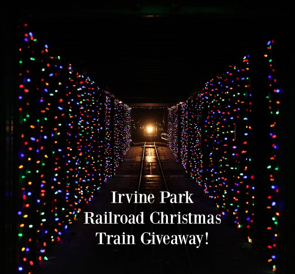 tis the season for irvine park railroads annual christmas train come enjoy an enchanting
