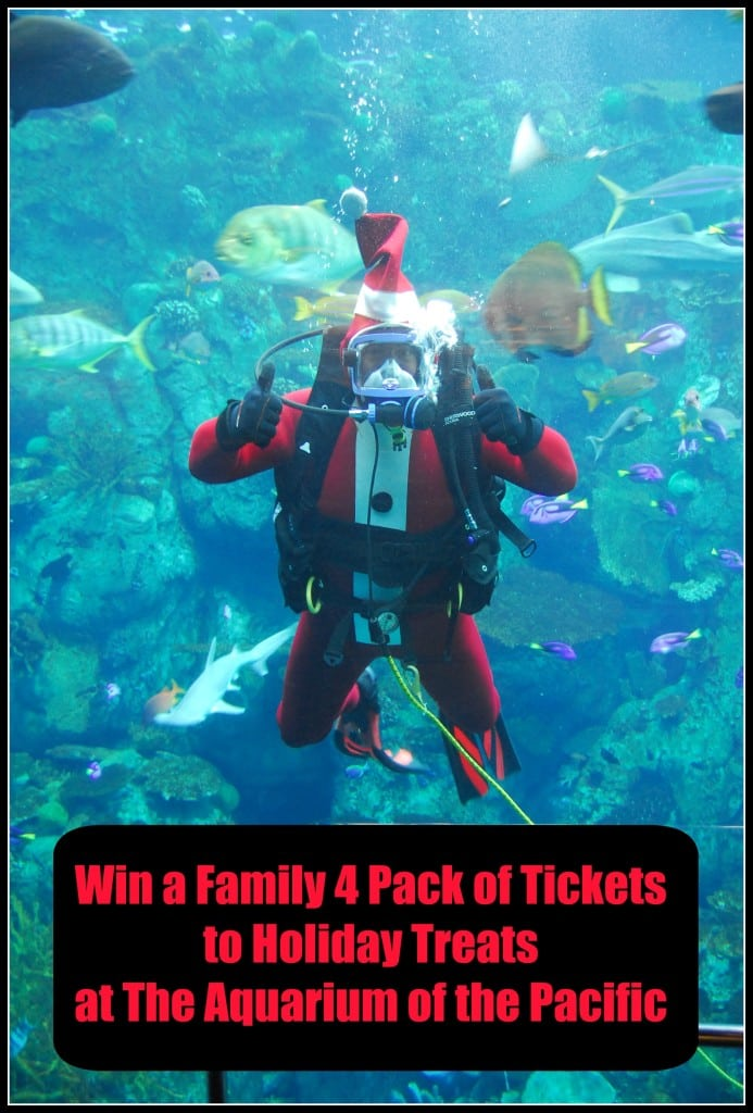 Holiday Treats at the Aquarium of the Pacific in Long Beach - Dec. 4 & 5